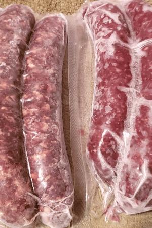"Organic ""Forage Fed"" All Beef Smoked Sausage 3-3/4 lb."