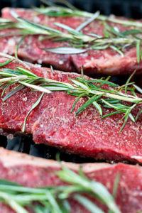 "Organic Grass ""Forage Fed"" Strip Steak 1"" Thick 2/pk"