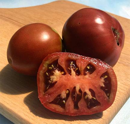 Organic Japanese Black Truffle Tomato Plant
