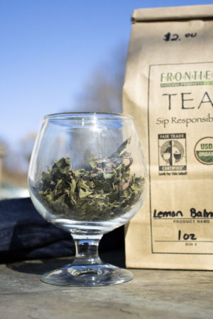 Organic Lemon Balm Tea