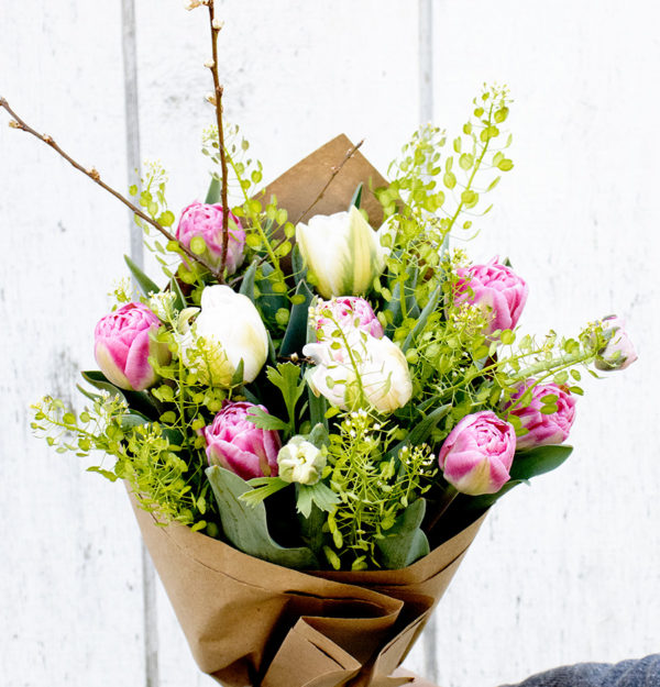 Mother's Day Soft Blush Tulip Bouquet
