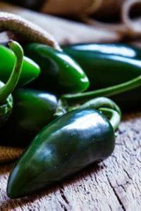 Organic Green Jalapeño Pepper